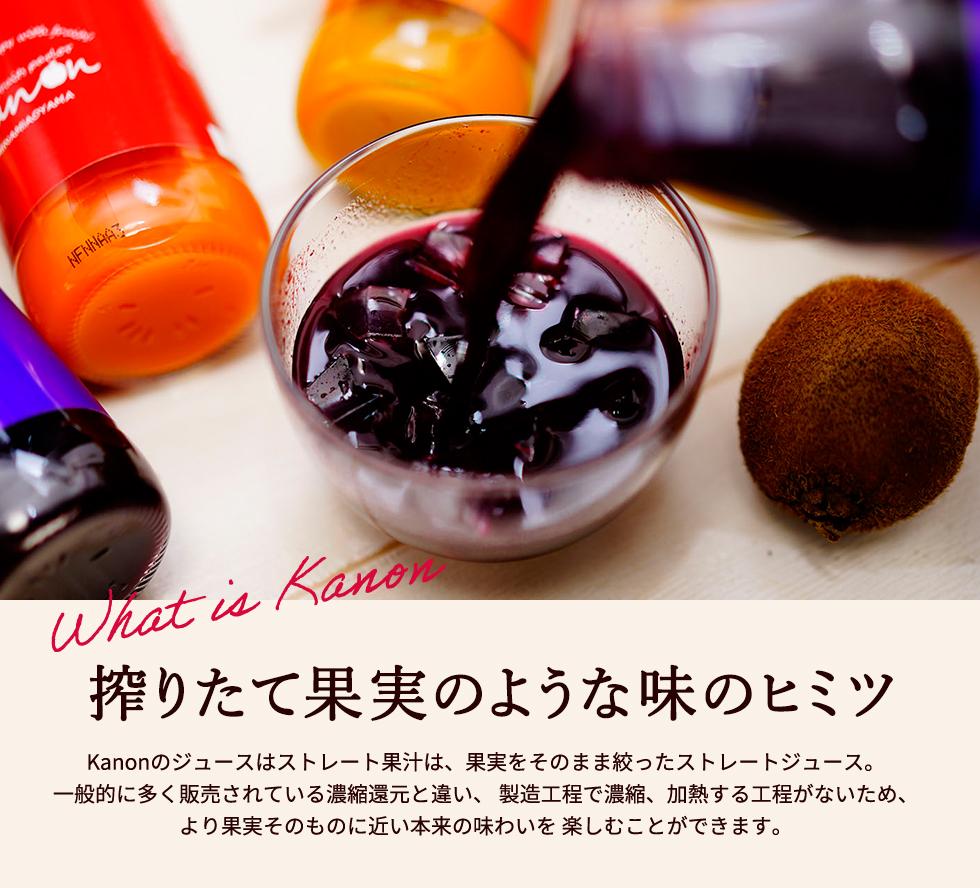 母の日ギフト Kanon フルーツジュース