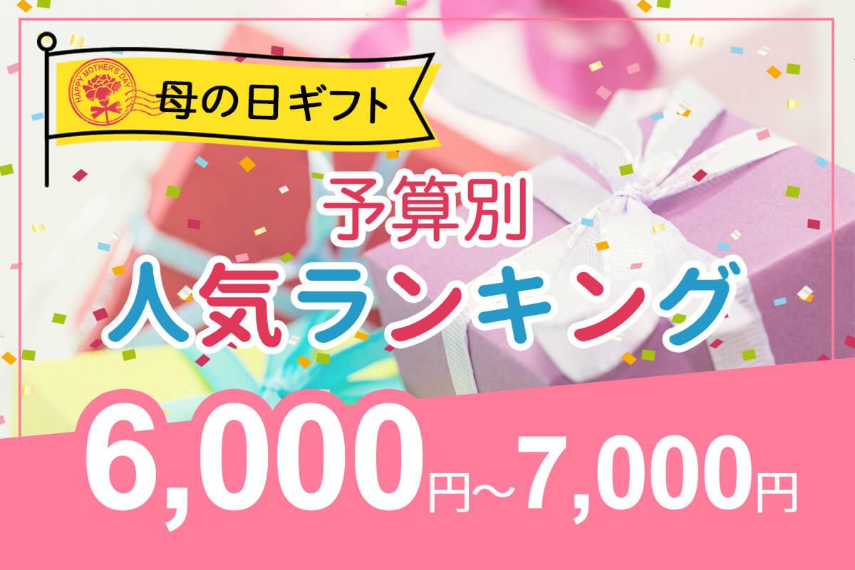 予算6,000円~7,000円の母の日ギフト